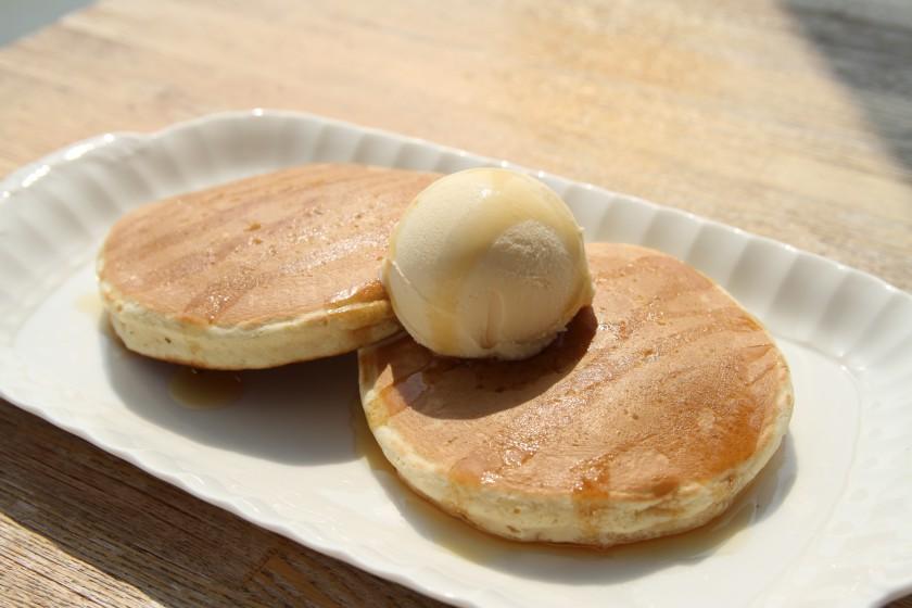 パンケーキ(アイス付)